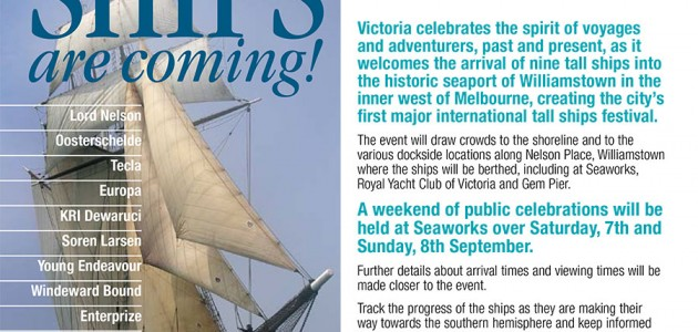 Melbourne International Tall Ship Festival 2013