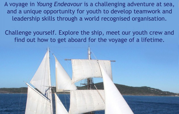 Visit Young Endeavour In Melbourne