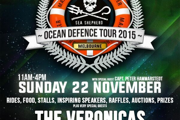 Sea Shepherd Ocean Defense Tour 2015